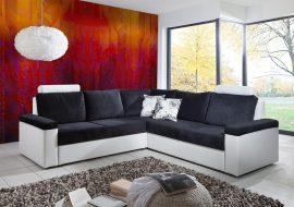 décoration personnalisée - simulation mur en tissu tendu