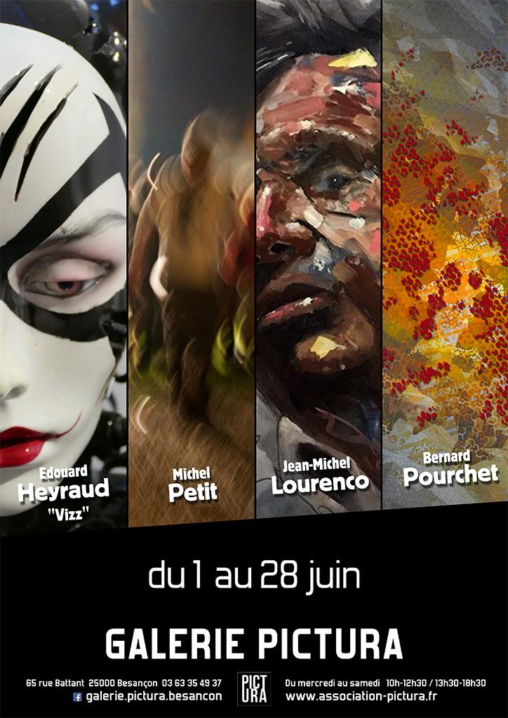 Galerie Pictura Besançon, Bernard Pourchet artiste numérique