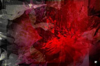 Peinture digitale abstraite