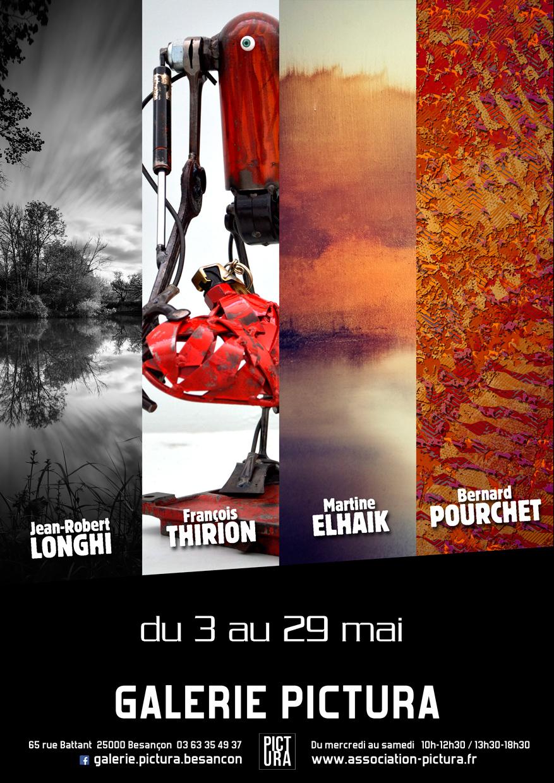 exposition collective peinture photo art numérique Besançon