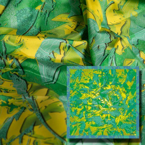 art digital; creation numerique imprimee; art numérique; creation originale; foulards; carrés de soie; silk; lixe; mode; design textile
