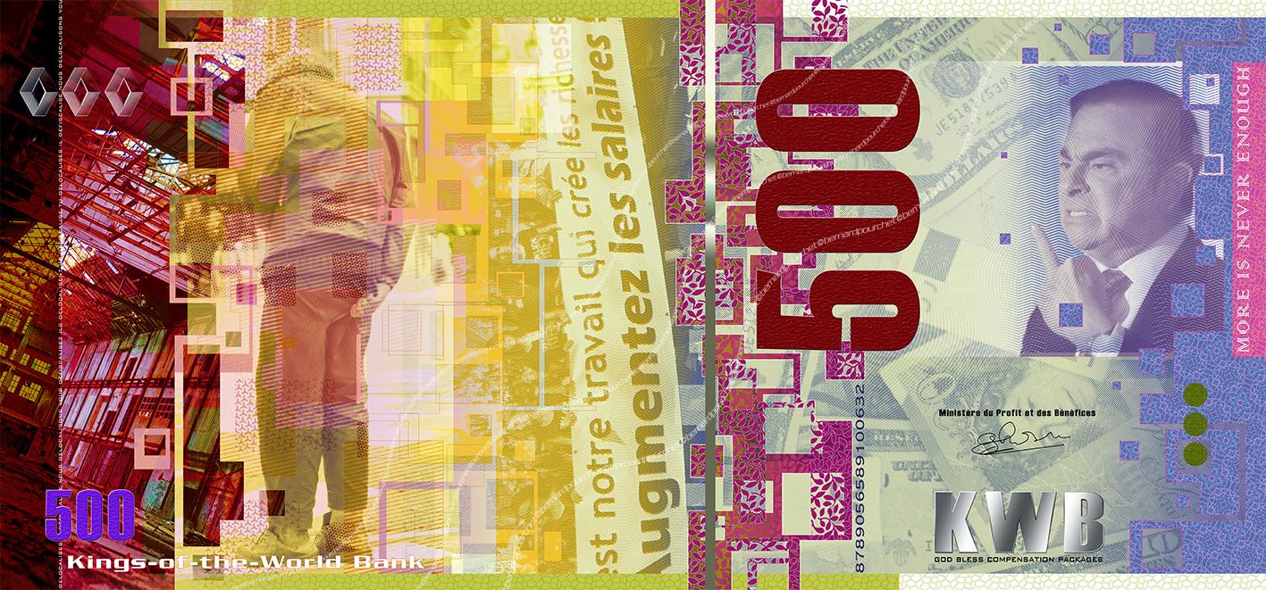 banknote, Digital art