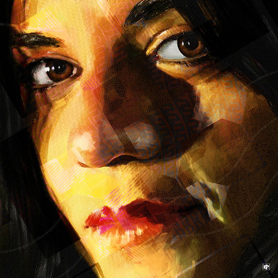 Salon d'automne art digital, Portrait peinture numerique