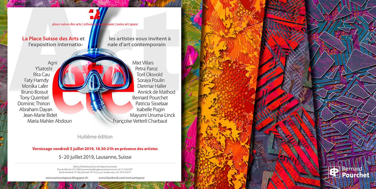 Exposition Galerie place Suisse des Arts Lausanne