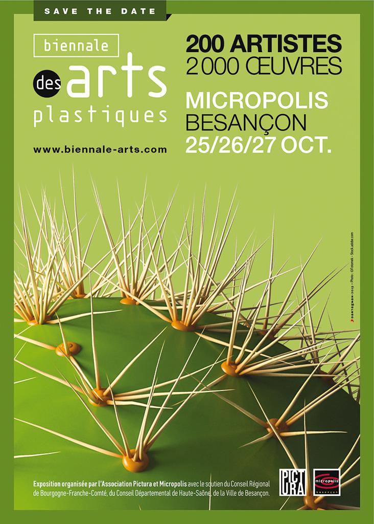 Biennale des arts plastiques Besançon 2019 Pourchet art numérique Micropolis