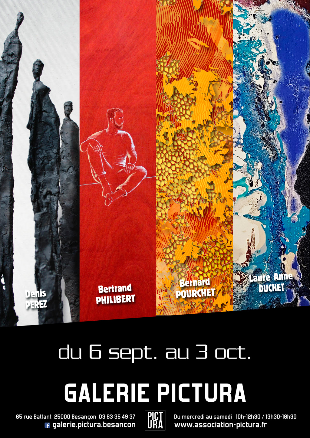 Exposition Galerie Pictura septembre 2019