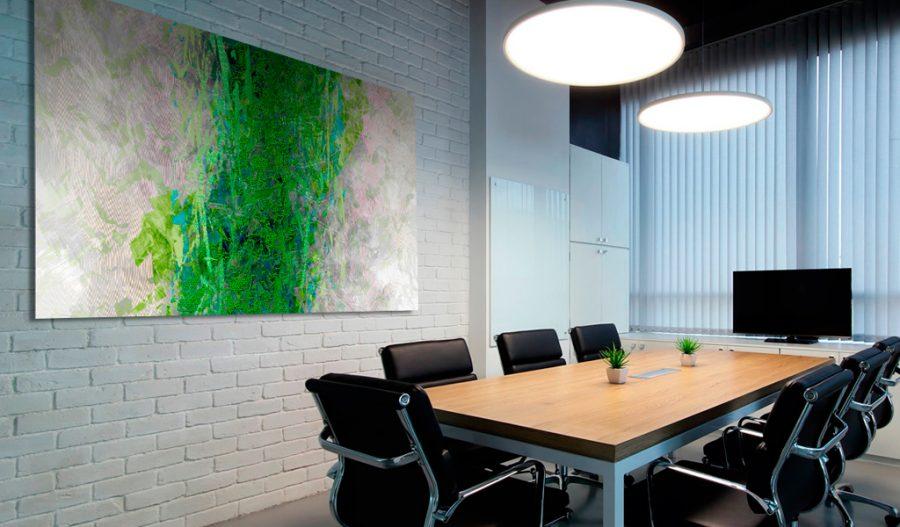 artiste digital, créateur d'œuvres numériques - art mural - art wall - création d'œuvres murales originales imprimées sur mesure pour la décoration d'espaces privés ou professionnels