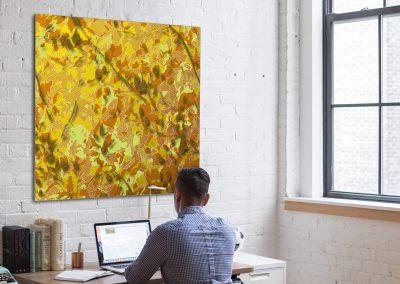art pour la décoration de bureaux, creations imprimées sur mesure