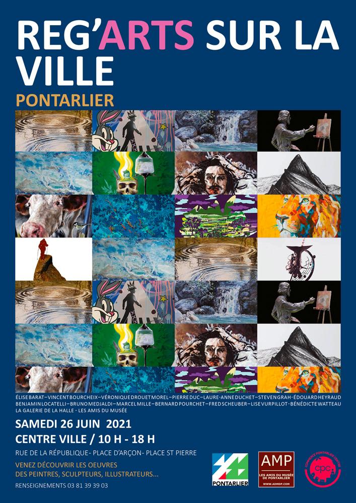 Pontarlier-art RegArts pourchet artiste numérique