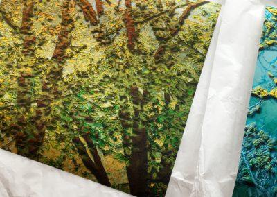 creation numérique imprimée en série limitée, exposition, art digital
