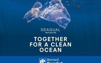 Des créations imprimées sur du plastique marin recyclé