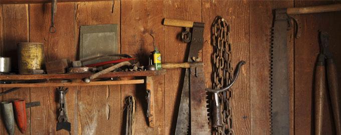 Ancien atelier de la Ferme Musée de Grand Combe  Chateleu